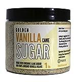 Bakto Flavors Gourmet Golden Vanilla Cane Sugar 1 lb Jar