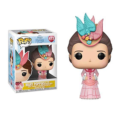 Funko Pop Movies : Mary Poppins#473 3.75inch Vinyl Gift for Movie Fans SuperCollection