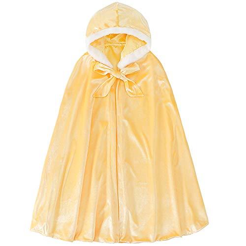 (フォーペンド) Forpend プリンセスマント ロング 帽子付きケープ 子供用 女の子 コスチューム ハロウィン クリスマス 仮装 MX32