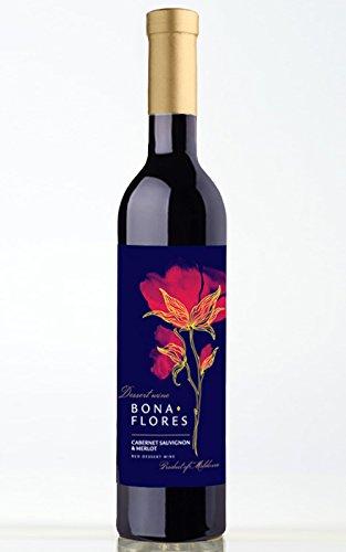 Dessertwein Bona Flores Cabernet Sauvignon + Merlot - Veganer Wein ohne Gelatine