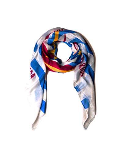 Pañuelos Fular Foulard Mujer Bufandas Estampado Diseño marinero Agatha Ruiz de la Prada 150 x 130cm