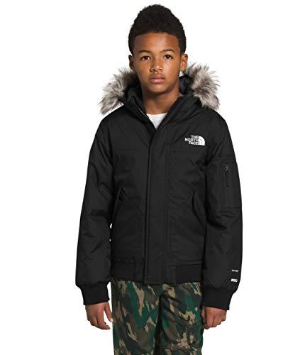 The North Face Boys' Gotham Jacket, TNF Black, M