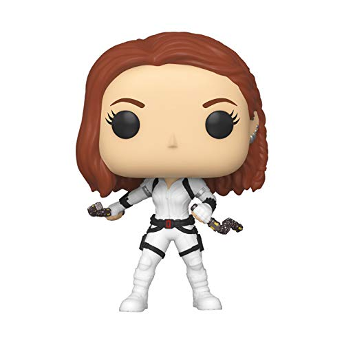 Funko Pop! Marvel: Black Widow – Black Widow (White Suit), Multicolor