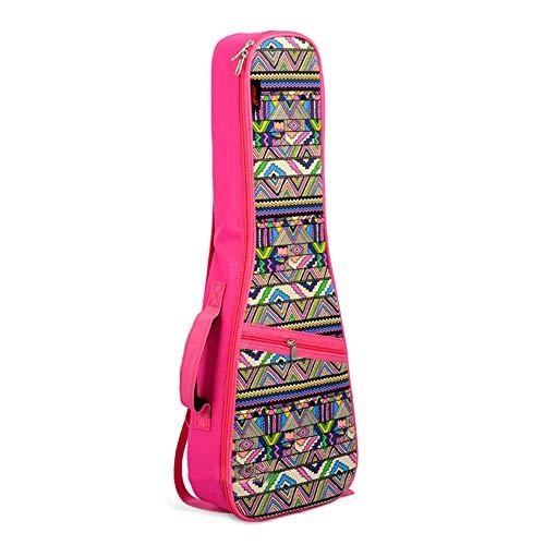 Estuche de Transporte de Guitarra Rosa Especialmente en el paquete Kerry Viento...