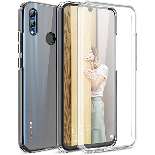 NewTop Cover Compatibile per Huawei Honor View 10 Lite, Custodia Crystal Case TPU Silicone PC Protezione 360° Fronte Retro Full Body (per Honor View 10 Lite)