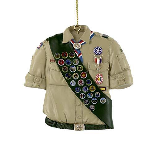 Kurt Adler Boy Scouts of America Chemise avec écharpe décorative
