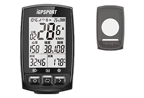 Pack iGS50E-BHN Compteur de vélo GPS Polyvalent + Coque Silicon Noire - GARANTIE 2 ANS sur iGPSPORT.fr OFFICIEL