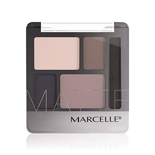 MARCELLE Quintet Eyeshadow, Brun Marine, Hypoallergenic and Fragrance-Free, Cherry Blossom, 0.2 Ounce