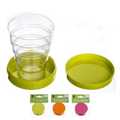 NAHUEL HOME Pack x3 Tazas plegables vasos plegables de viaje