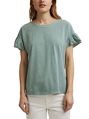 Esprit 031ee1k342 Camiseta, Turquesa, S para Mujer