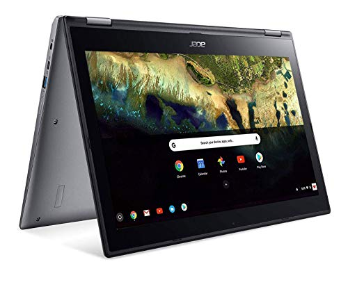"Acer Chromebook Spin 15 Convertible Laptop, Intel Pentium N4200, 15.6"" Full HD Touch Display, 4GB LPDDR4, 32GB eMMC, 802.11ac WiFi, Google Chrome, CP315-1H-P8QY, Silver"
