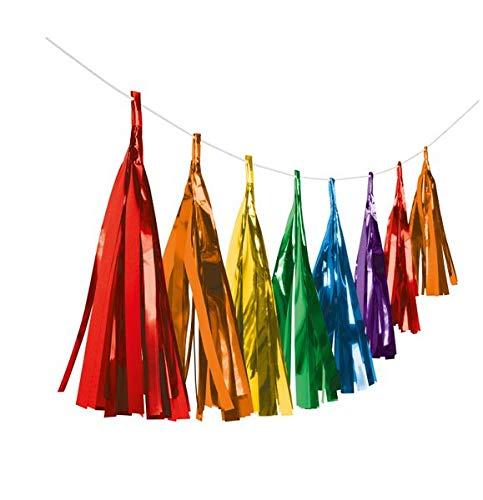 amscan- Fransengirlande arcoíris. (9904614)