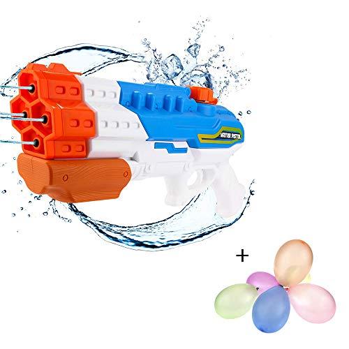 a ray of sunshine Pistola de Agua Super Soaker,Super Pistola de Agua,Pistola de Agua Niños a Presion,Pistola de Agua Niños Grandes,Pistola de Agua de Juguete para Niños,Juguete Pistola de Agua