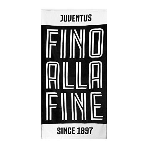 Telo Mare F.C. Juve Juventus Ufficiale Spugna di Cotone 70x140 cm U064