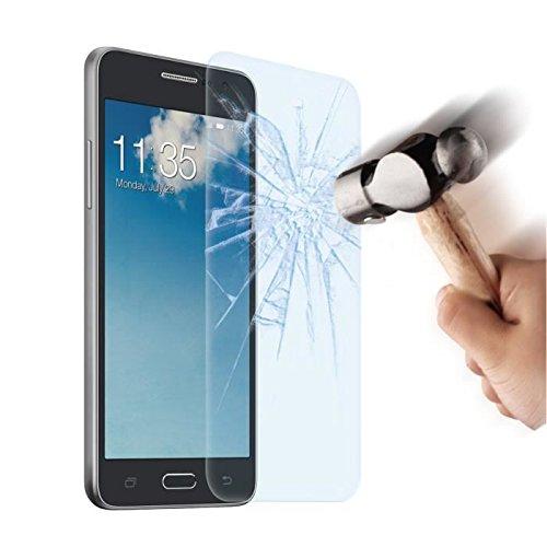 HQ-CLOUD 1 Film Vitre en Verre Trempe de Protection d'ecran Transparent pour Samsung Galaxy Grand Prime SM-G530F / (4G) SM-G531F