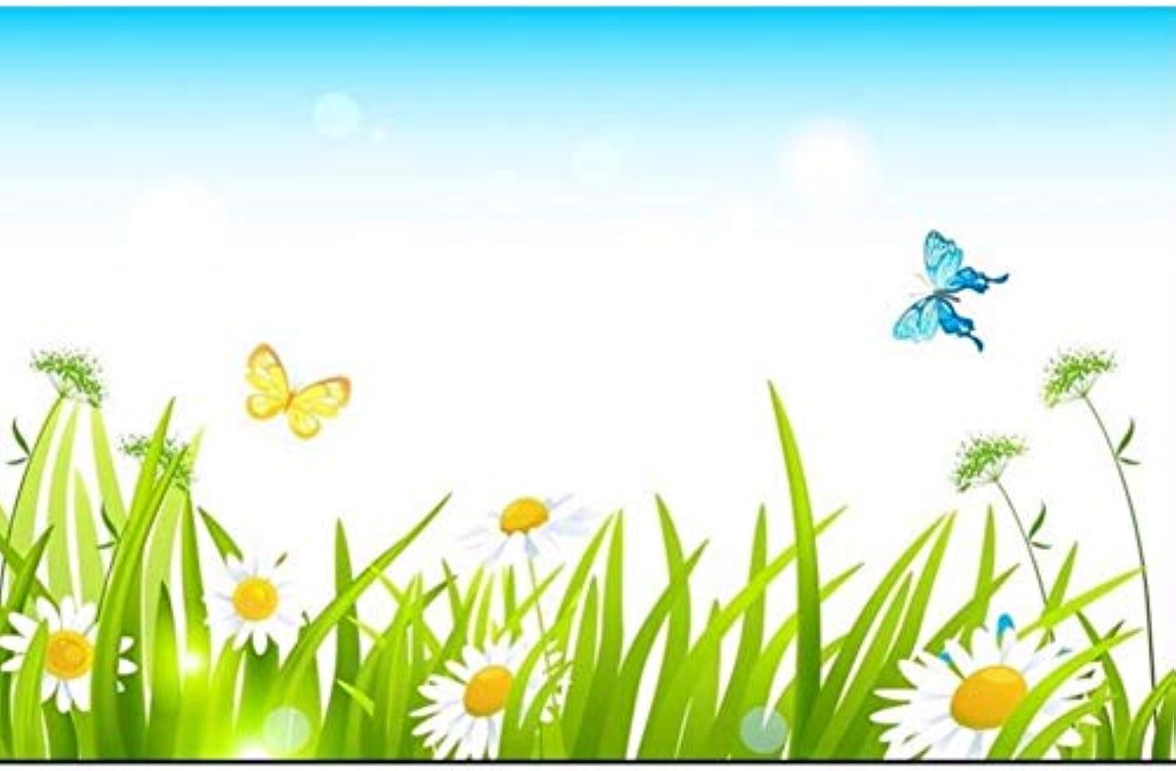 ¡no ser extrañado! Qwerlp Qwerlp Qwerlp Papel Tapiz 3D Personalizado Para Niños Habitación Mural No Tejido Etiqueta De La Parojo Mariposa Hierba Pintura Foto Murales De Parojo 3D Papel Tapiz Para Parojoes 3D-200X140CM  envío gratis