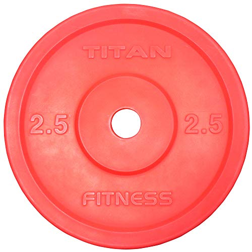 TITAN Technique Weight Plates 2.5 KG