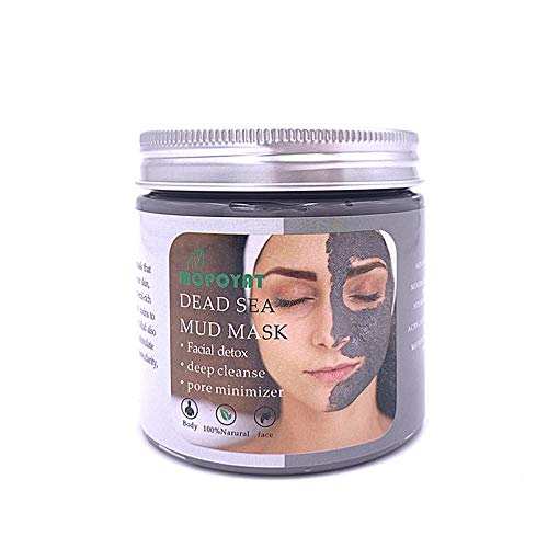 Dead Sea Mud Mask,Facial Mask Skin Care Mineral Formula Absorbs Dead Skin Cells Dirt and Toxins Make Skin Fresh and Softer, Reduce Acne/Blackheads, Purifying Clay Face Mask-7 Fl.oz