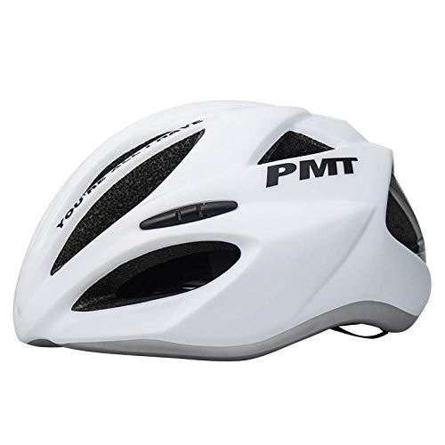 Einteiliger pneumatischer Rennrad-Helm männlicher Mountainbike-Helm weibliche Fahrradausrüstung-M_Silver M-Code
