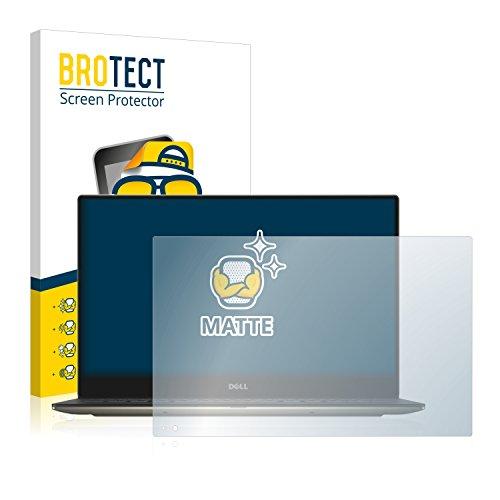 BROTECT Entspiegelungs-Schutzfolie kompatibel mit Dell XPS 13 9350 Touch Bildschirmschutz-Folie Matt, Anti-Reflex, Anti-Fingerprint