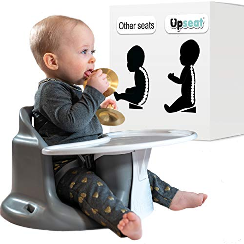 Buy Discount Upseat Baby Chair Booster Seat with Tray for Upright Posture and Healthy Hips