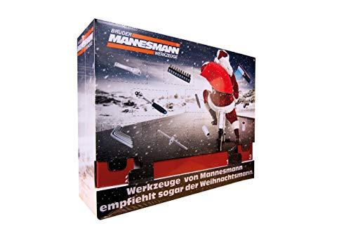 Brüder Mannesmann Werkzeuge M599950 131 teiliger Adventskalender