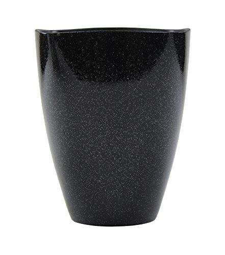 Decoline Kunststoff Blumentopf 1 Stück schwarz