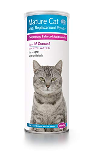 Mature Cat Powder, 4oz Meal Replacement for Cats