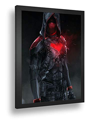 Quadro Decorat Poste Capuz Vermelho Batman Do Futuro