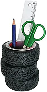 Sunbelt Gifts Tire Pen Holder, Multi