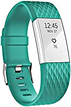 HWHMH Adjustable Sport Strap Band for Fitbit Charge 2 Fitness Watch, Classic, 10 Colors