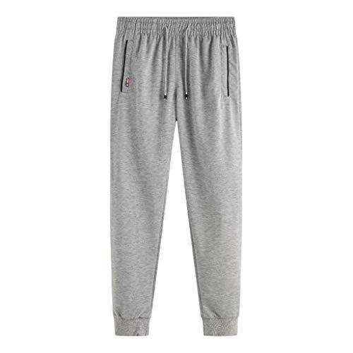 Pantalons De Sport pour Hommes Skinny Legs Slim Taille éLastique Confortable Absorption De La Transpiration Pantalon De Jogging Actif