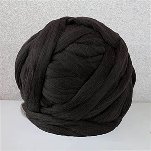 GULAKY Hilo de lana de merino gigante, hilo grueso para hacer punto de brazo, hilo de lana súper...