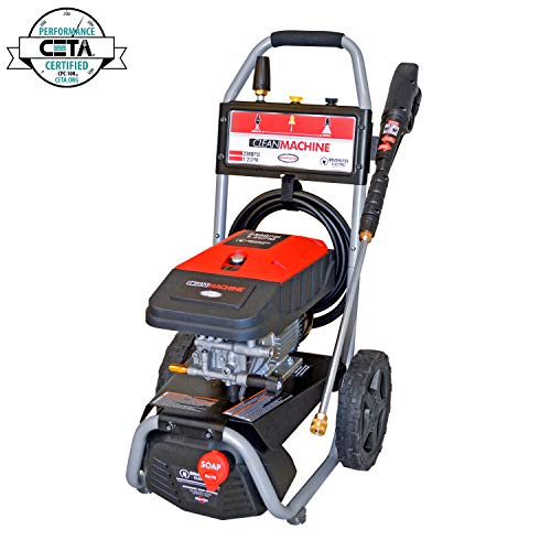 Simpson Cleaning 61016 2300 PSI at 1.2 GPM Simpson Electric Pressure Washer, Black