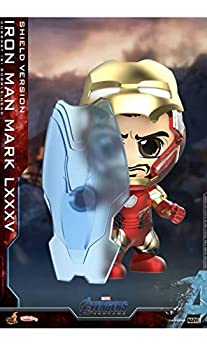 Hot Toys Iron Man Mark LXXXV Shield Version Cosbaby Figure Avengers Endgame