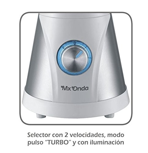 Mx Onda MX-BBM2151 Batidora de vaso, 600 W, 1.5 litros, 0 ...