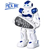 SGILE RC Robot Toy, Programmable Intelligent Walk Sing Dance Robot for Kids Gift...