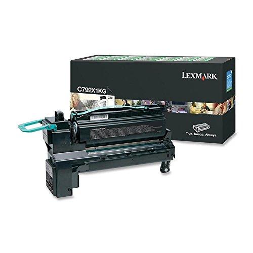 Lexmark C792X1KG – C792 svart extra hög returrätt