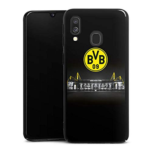 DeinDesign Hard Case kompatibel mit Samsung Galaxy A40 Schutzhülle schwarz Smartphone Backcover BVB Stadion Borussia Dortmund