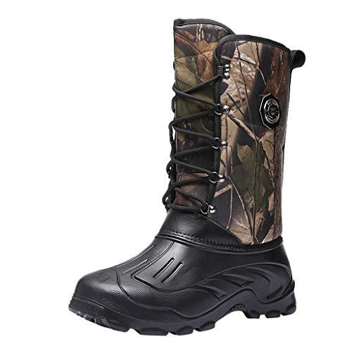 Automne Hiver LuckyGirls Chic INS Fashion Mens Waterproof Plus Non Slip Warm Protective Casual Shoes Bottes de Neige