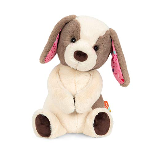 B. toys by Battat B. Toys – Happy Hues – Cupcake Pup – Huggable Dog Stuffed Animal Toy – Soft & Cuddly Plush Puppy – Washable – Babies, Toddlers, Kids