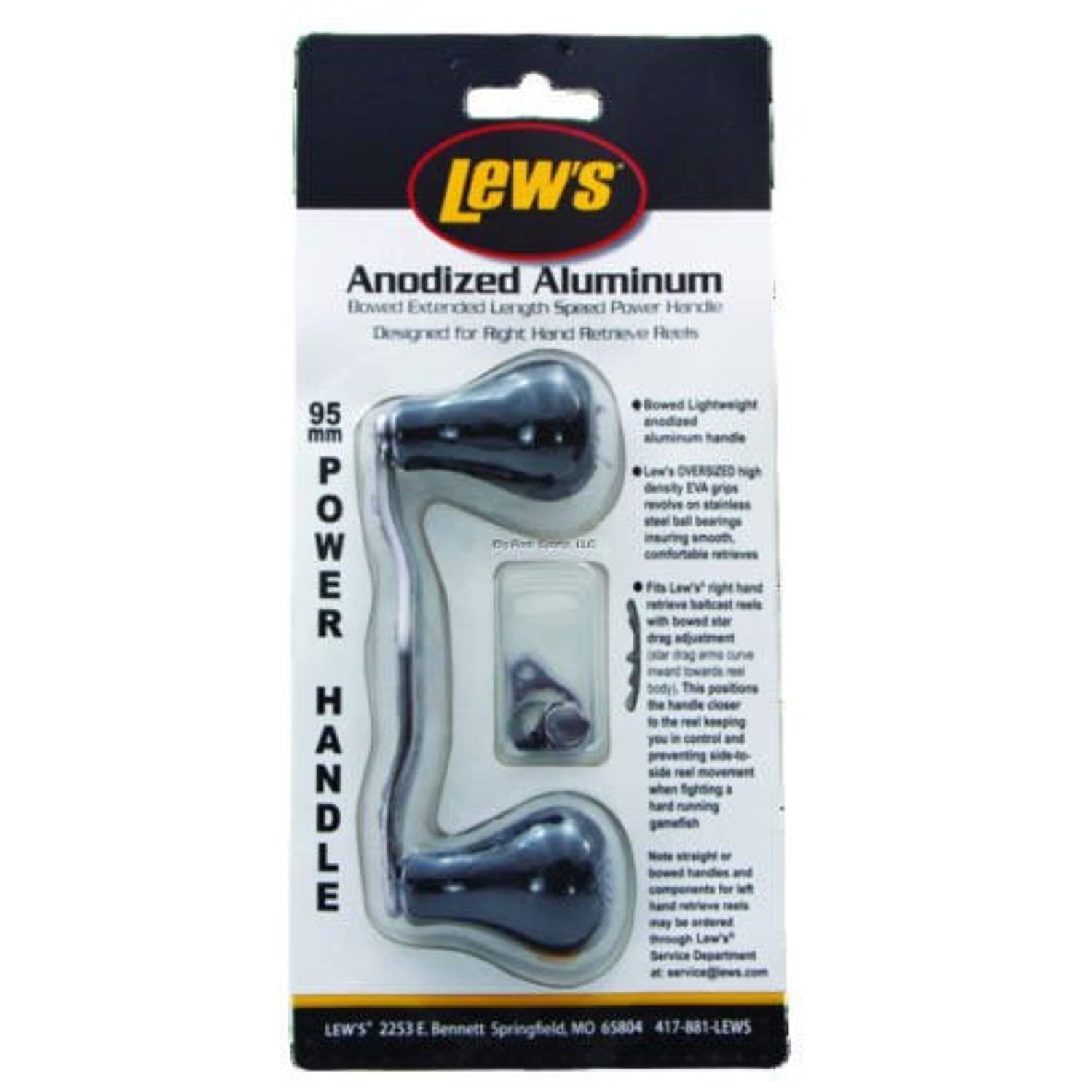 Lew's Fishing Baitcast Reel Handles, 95mm/Jumbo