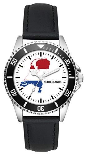 Holland Nederland Geschenk Artikel Idee Fan Uhr L-1251