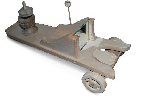 Die kleine Schnupfmaschine mit Rädern mit Tabakdose, Löffel und Spiegel