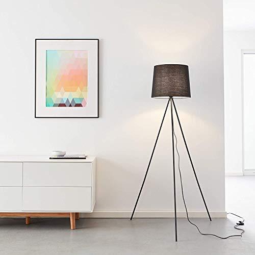 lampada da terra 3 piedi Lampada a stelo a 3 piedi