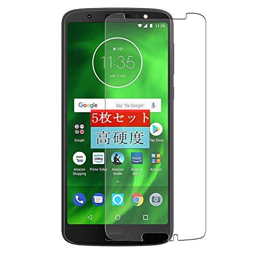 5枚 Sukix フィルム 、 Motorola Moto G6 Plus 向けの 液晶保護フィルム 保護フィルム シート シール(非 ガラスフィルム 強化ガラス ガラス ケース カバー ) 修繕版