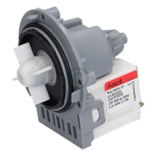 Pumpe Ablaufpumpe Askoll M224 RC0233 Ariston Indesit C00144997 Waschmaschine 40 Watt
