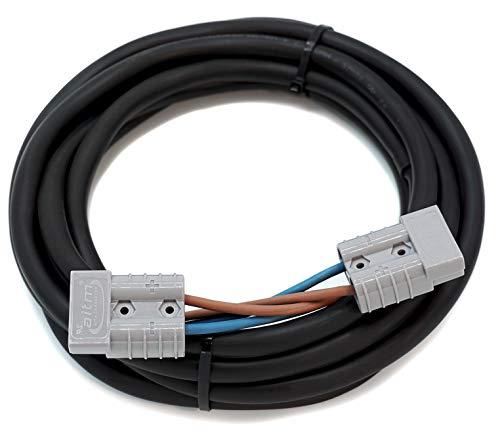 WATTSTUNDE SunFolder Solartasche 2x4mm² Verlängerungskabel - Kabelverlängerung für alle Kabel mit Anderson Stecker (SunFolder Verlängerung 10m)