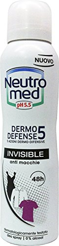neutromed Deo personne Spray Invisible 150 ml