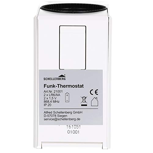 Schellenberg Smart Home Funk-Thermostat weiß - 3